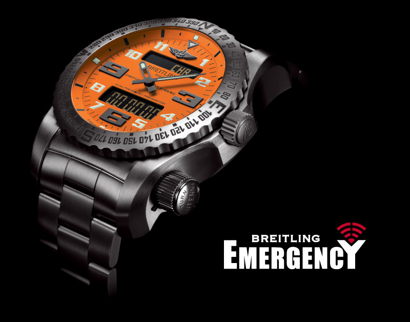 Breitling Emergency - Swiss watch with distress beacon