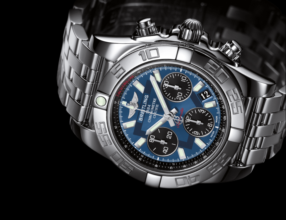 how to change date on breitling chronomat