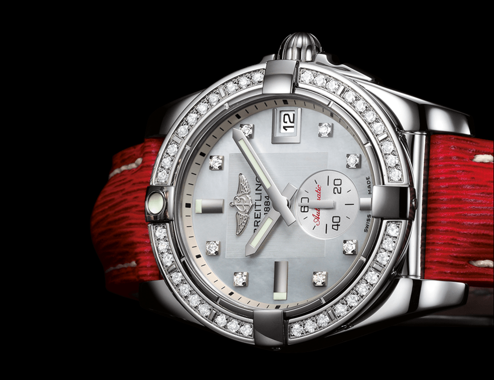 Breitling Galactic 36 Automatic Swiss Ladies Watch
