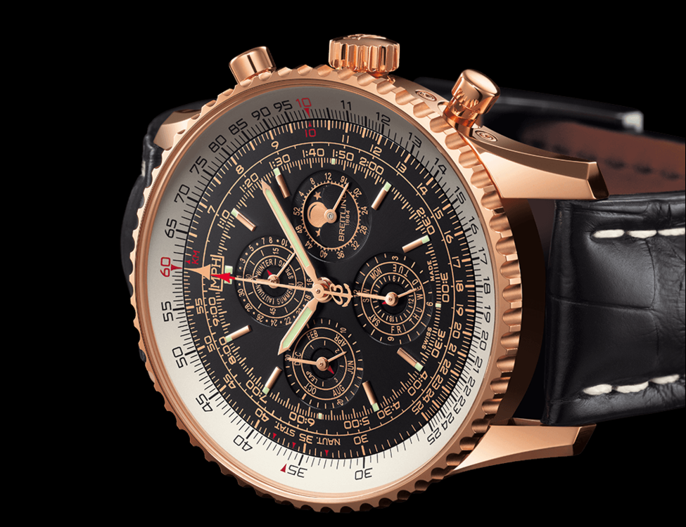 Breitling Bentley Watches >> Breitling Navitimer QP - Swiss perpetual calendar watch