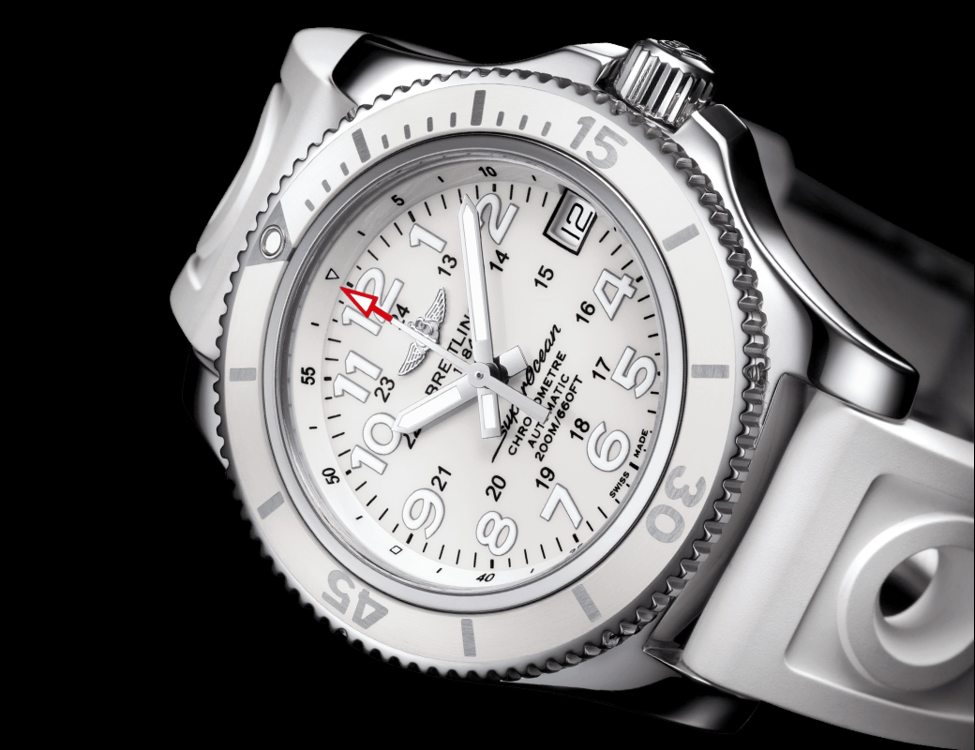 Breitling Superocean White