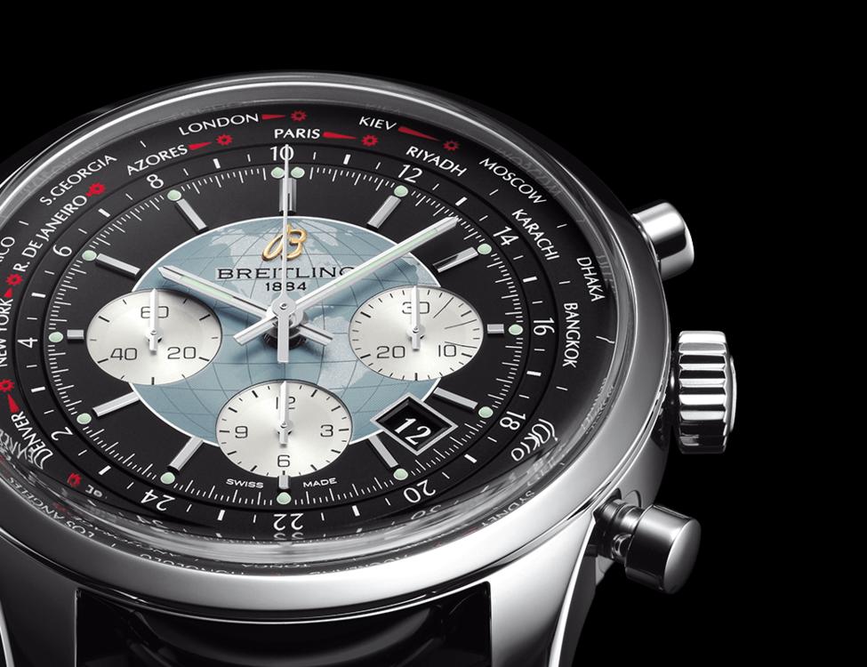 Breitling Bentley Watch >> Breitling Transocean Chronograph Unitime – Universalzeit