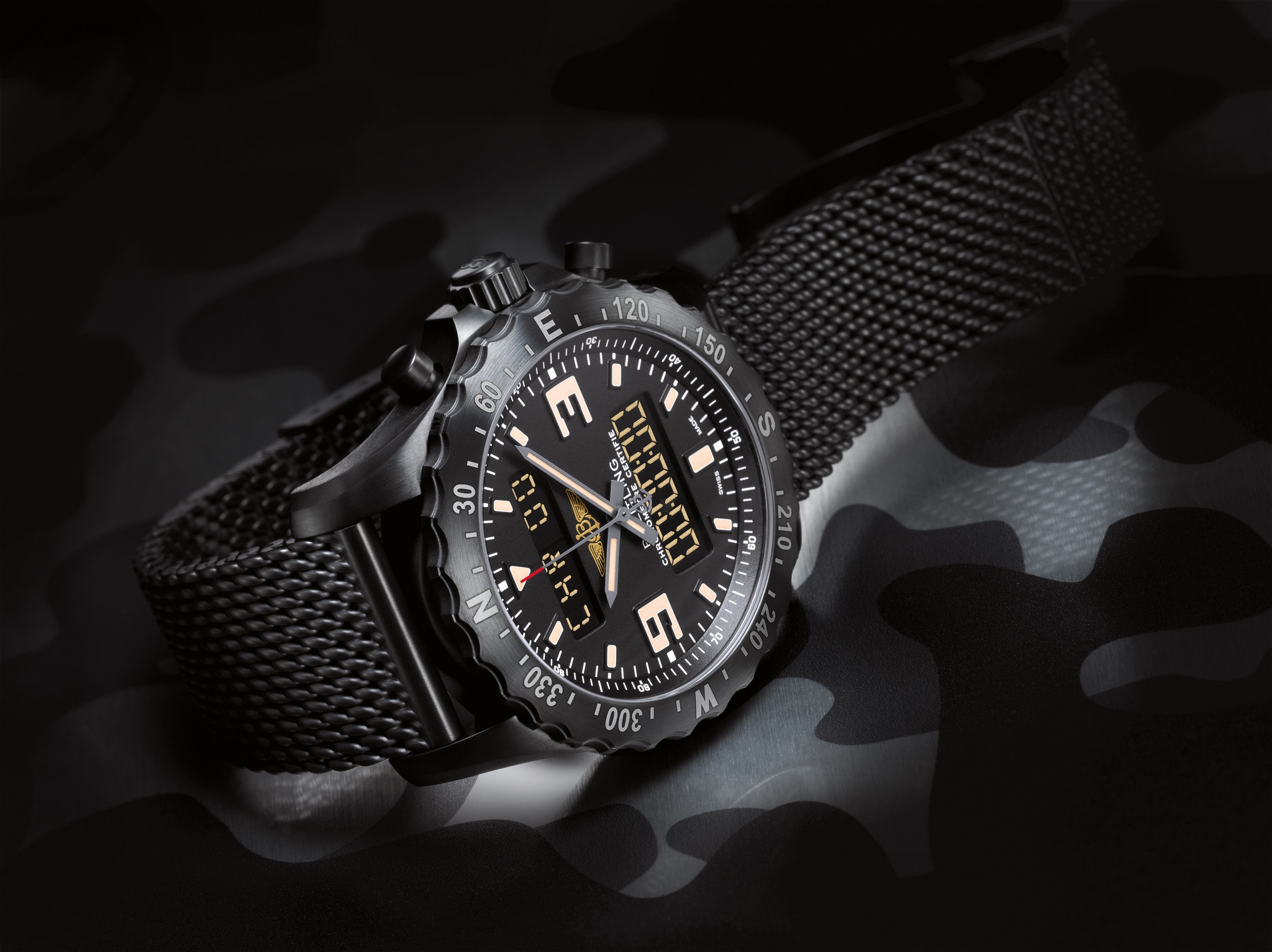 Breitling Super Avenger 50mm Replik