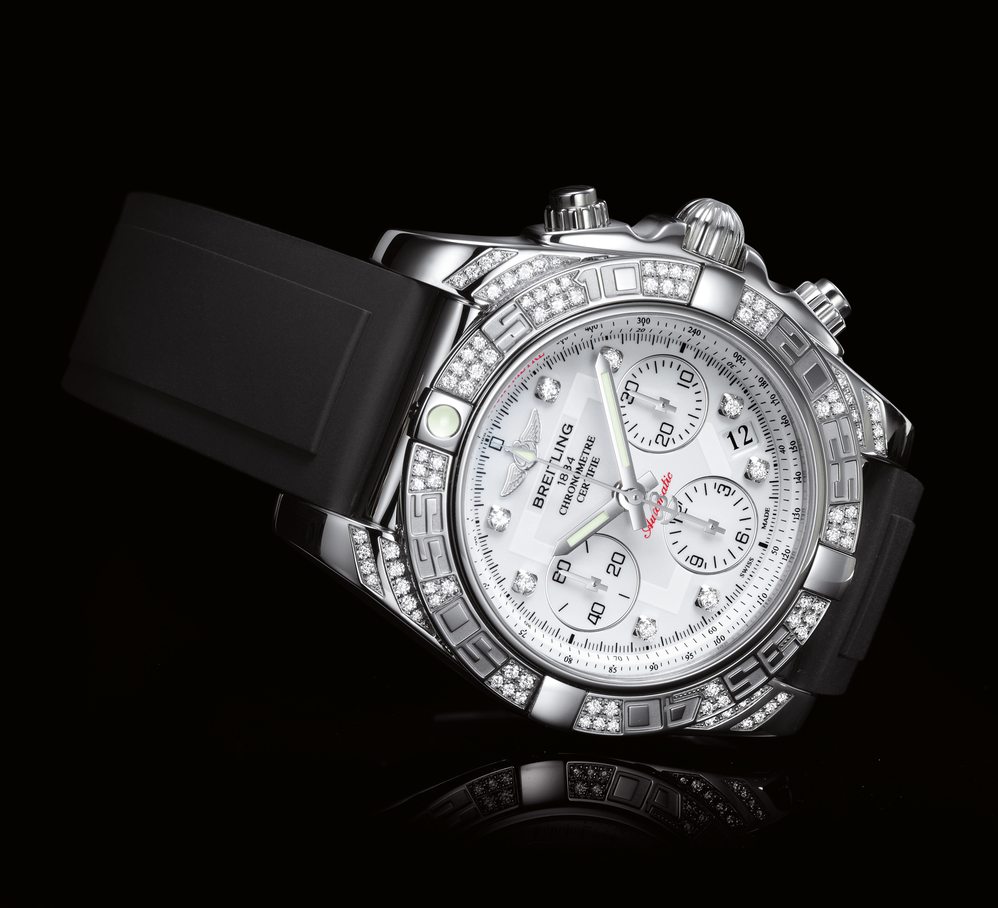 5a8620993a2 Breitling Chronomat 01 Diamondworks « One More Soul