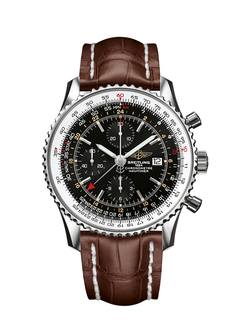 breitling navitimer world gmt