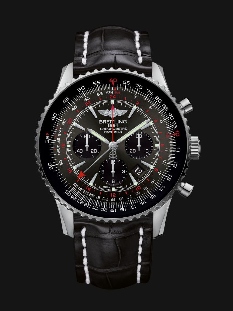 Breitling 航空计时世界时间腕表