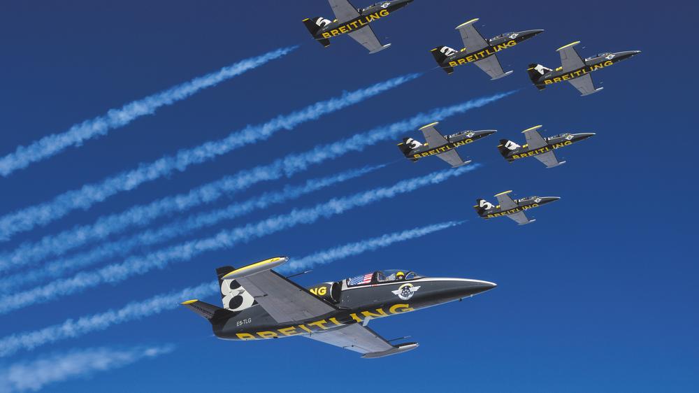 Breitling Jet Team erobert Amerika