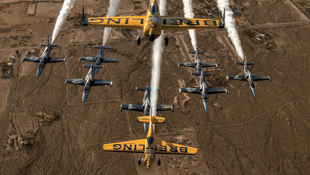 Breitling Pilot Mika Brageot's Time to Shine in the Red Bull Air Race World Championships