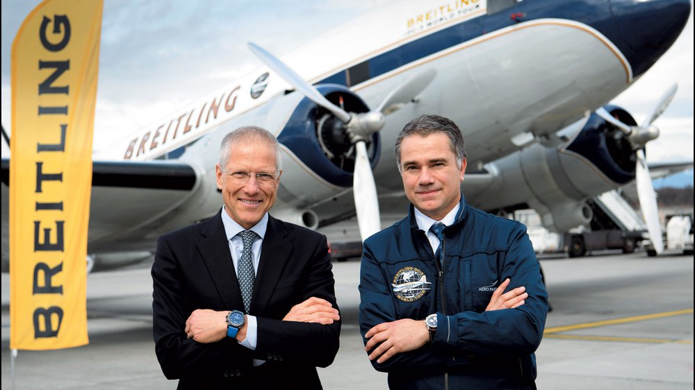 The Breitling DC-3 kicks off its great world tour
