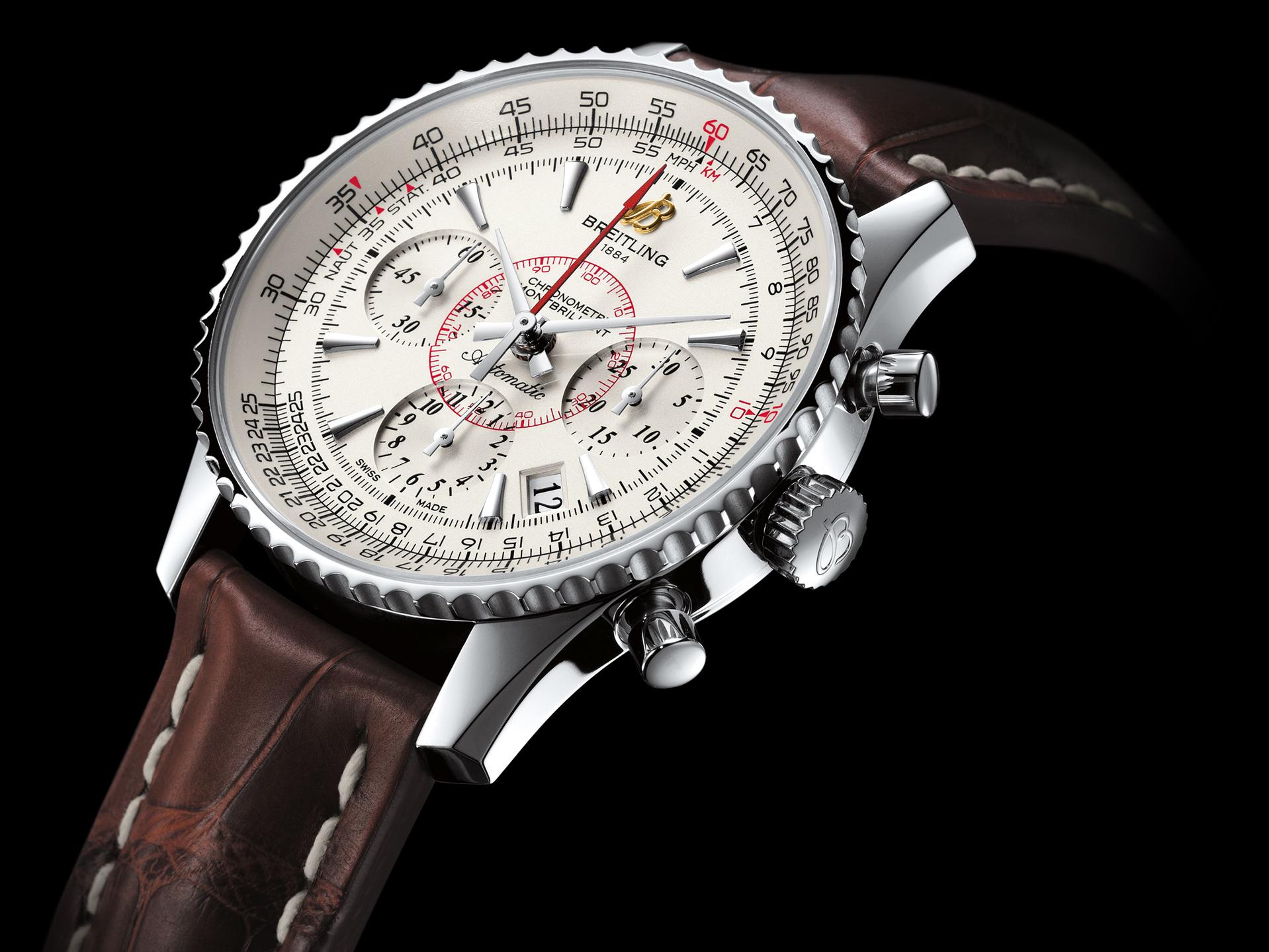 Breitling Montbrillant 01 Swiss Selfwinding Chronograph