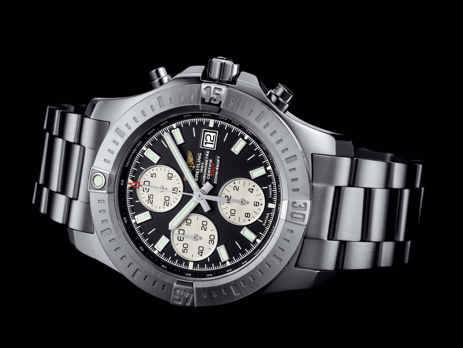 breitling bentley automatic multifunction 1884