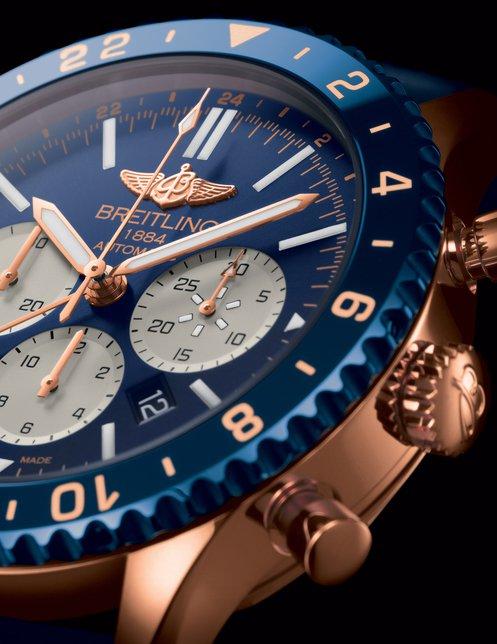 百年灵航空飞行计时B04腕表