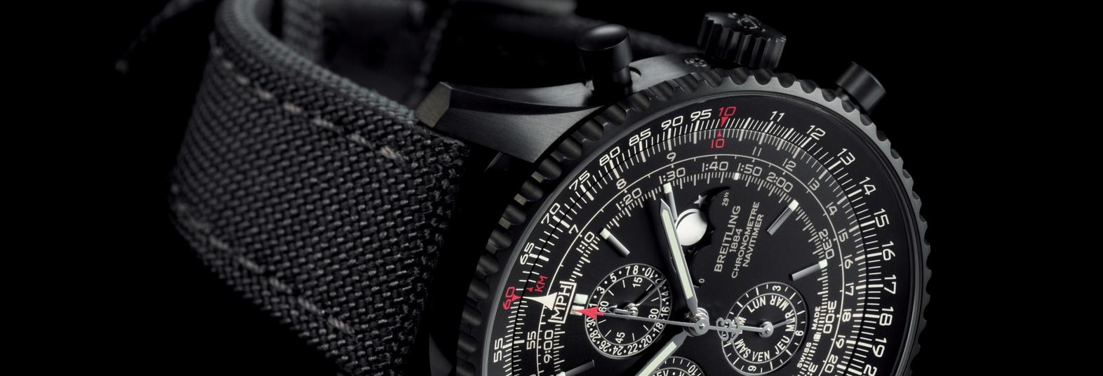 Breitling Navitimer Black Steel