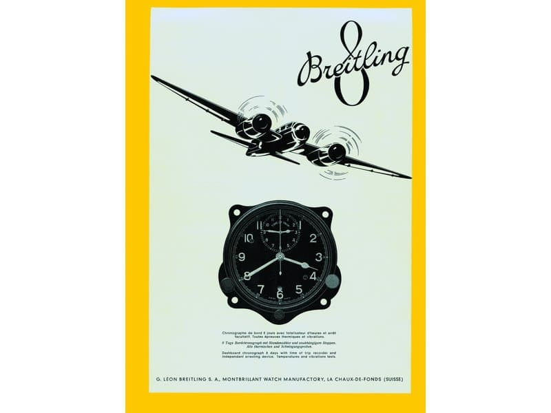 Léon Breitling focused on chronographs