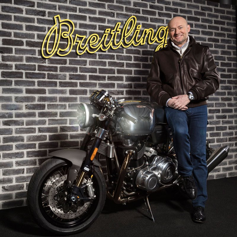 BREITLING AND NORTON MOTORCYCLES