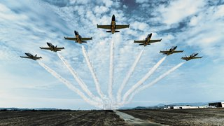 THE BREITLING JET TEAM