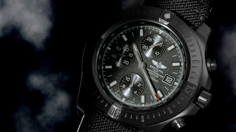 Colt Chronograph Automatic Blacksteel