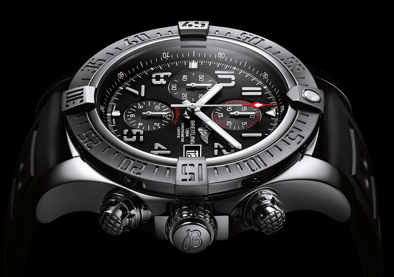 Limited Editions Breitling Super Avenger Ii Swiss