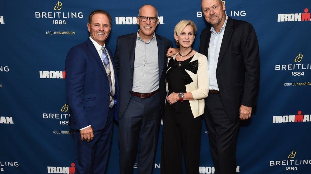 Neue Uhr von Breitling Partnerschaft mit IRONMAN, einem