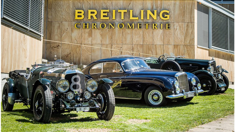 BREITLING AND FINE AUTOMOBILES - A RICH HERITAGE AND AN EXCITING FUTURE