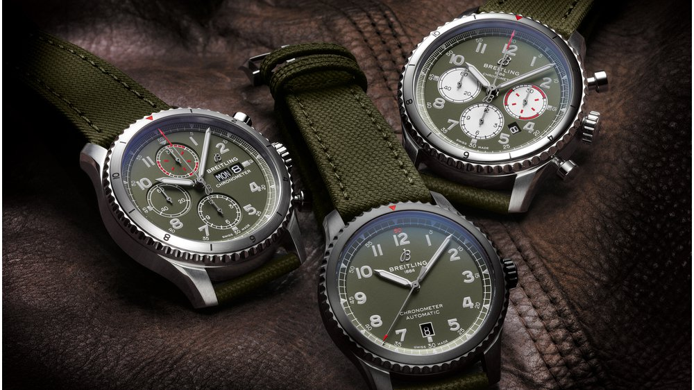 71b25468277 THREE NEW BREITLING WATCHES COMMEMORATE AN AVIATION LEGEND