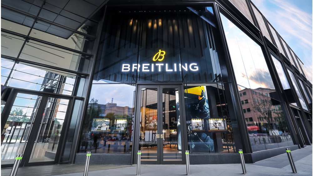 BREITLING OPENS FIRST FLAGSHIP BOUTIQUE IN ASIA IN WF CENTRAL, BEIJING