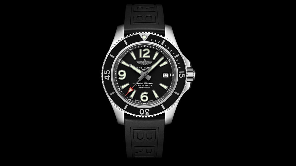 La nouvelle ­collection Breitling Superocean