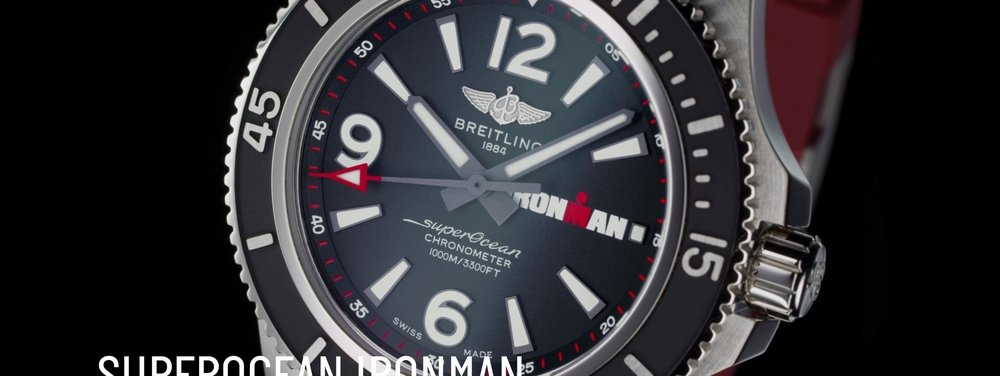 BREITLING TO PARTNER WITH IRONMAN ON NEW LUXURY TIMEPIECE