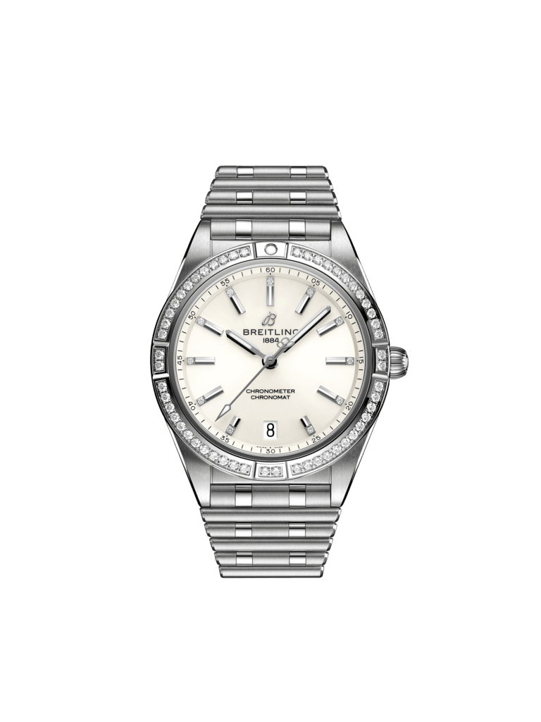 Chronomat Automatic 36 - Stainless Steel (Gem-set) - White