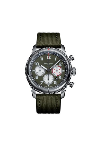 Aviator 8 B01 Chronograph 43 Curtiss Warhawk - AB01192A1L1X1