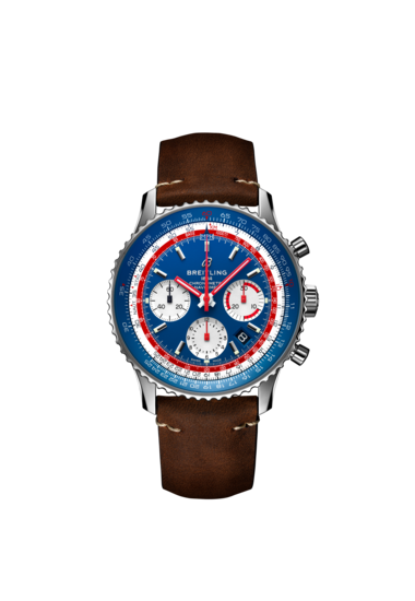 NAVITIMER 1 B01 CHRONOGRAPH 43 AIRLINE EDITION - PAN AM - AB01212B1C1X1