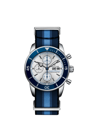 Superocean Heritage Chronograph 44 Ocean Conservancy Limited Edition - A133131A1G1W1