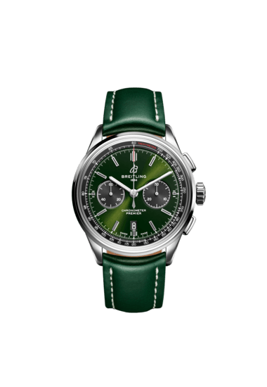 Premier B01 Chronograph 42 Bentley British Racing Green - AB0118A11L1X1