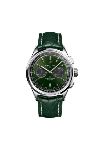 Premier B01 Chronograph 42 Bentley British Racing Green計時腕錶 - AB0118A11L1X1