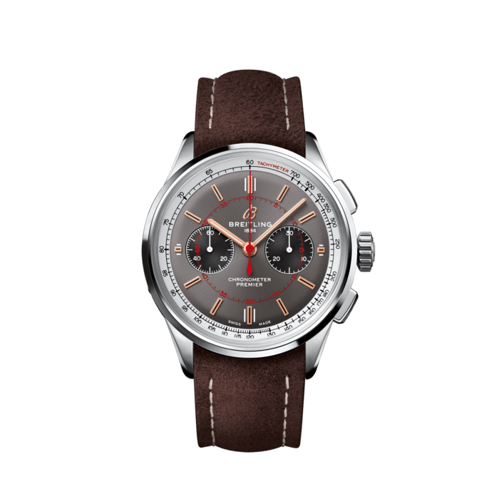 Premier B01 Chronograph 42計時腕錶「Wheels and Waves」限量版 - AB0118A31B1X2