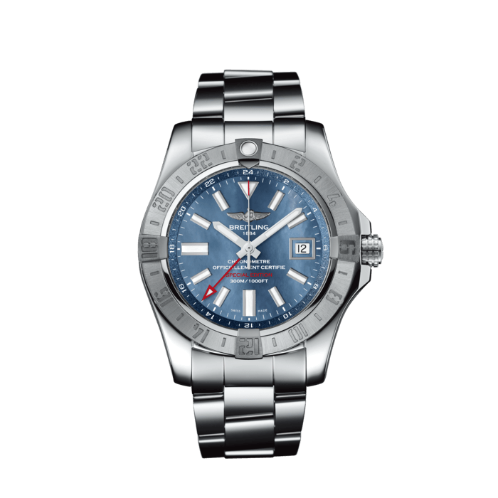 アベンジャー II GMT ブルー マザーオブパール - A3239011/C930/170A