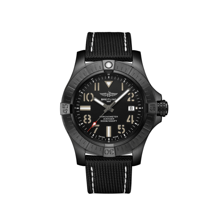Avenger Automatic 45 Seawolf Night Mission復仇者深潛海狼夜間任務自動腕錶 - V17319101B1X1