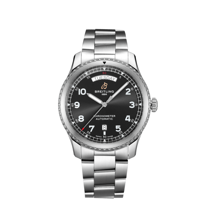 Aviator 8 Automatic Day & Date 41 - A45330101B1A1