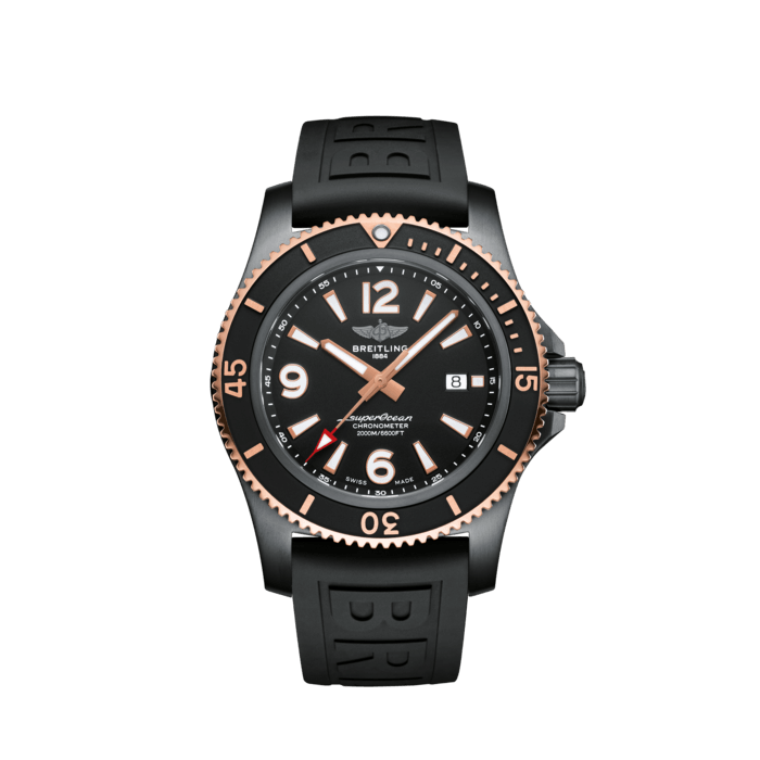 Superocean Automatic 46 Black Steel - U17368221B1S1