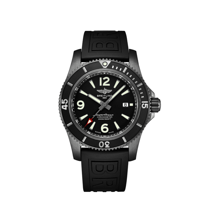 Superocean Automatic 46 Black Steel - M17368B71B1S2