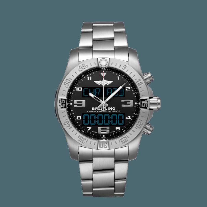 エクゾスペース B55 チタン - ブラック EB5510H11B1E1 | Breitling