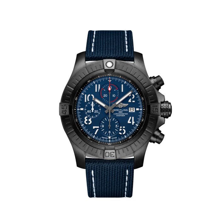 Super Avenger Chronograph 48 Night Mission - V13375101C1X2