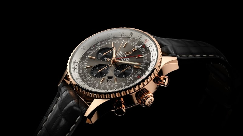 THE BREITLING NAVITIMER B03 CHRONOGRAPH RATTRAPANTE 45