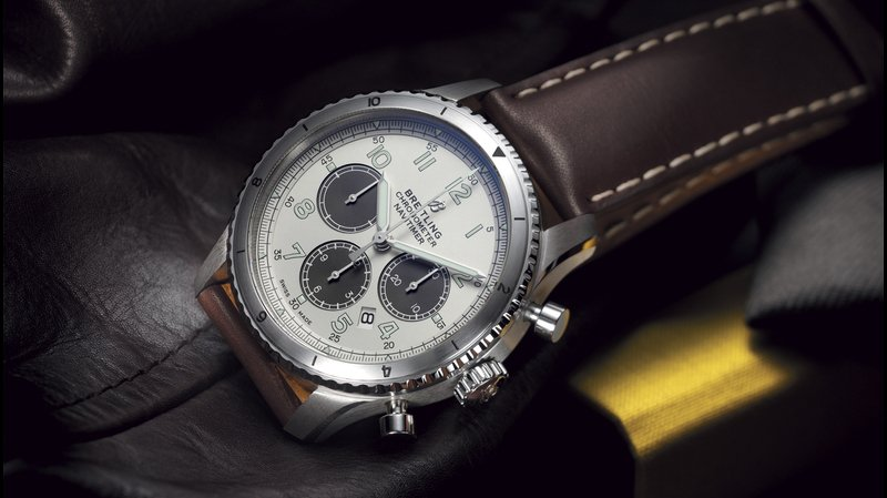 Breitling Announces Partnership With mr Porter by Unveiling a Limited Edition Navitimer Aviator 8