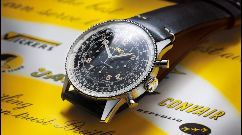 Die Breitling Navitimer Ref. 806 1959 Re-Edition