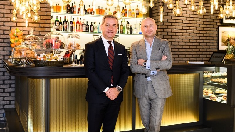 Breitling launches its bistro bar boutique concept at Jelmoli in Zurich