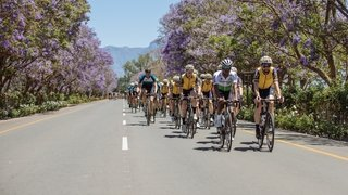 BREITLING TRIATHLON SQUAD AND FRIENDS RETURN TO THE CORONATION DOUBLE CENTURY ENDURANCE RACE AND CELEBRATE A YEAR OF SUPPORT FOR QHUBEKA