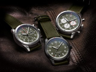 THREE NEW BREITLING WATCHES COMMEMORATE AN AVIATION LEGEND