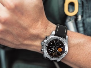 The Breitling Avenger Swiss Air Force Team Limited Edition