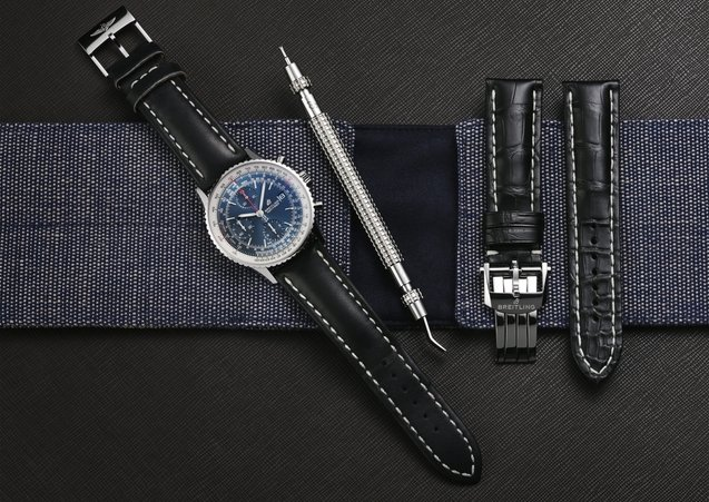 How to change<br>the strap of your<br>Breitling watch